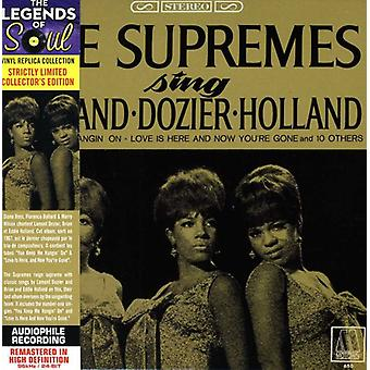 The Supremes - Sing Holland/Dozier/Holland [CD] USA importerer