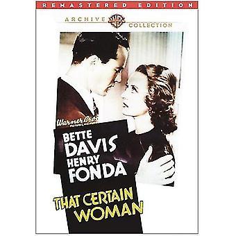 At visse kvinde [DVD] USA importerer