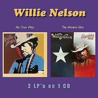 Willie Nelson - importazione USA My proprio modo/Minstrel Man [CD]
