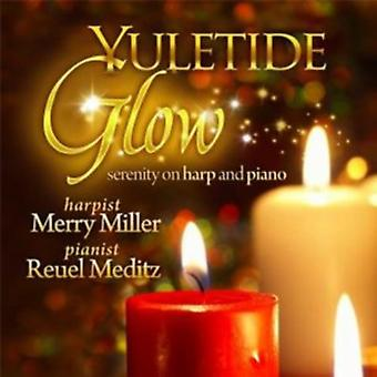 Glædelig Miller - Yuletide glød: Ro på harpe og Piano [CD] USA import
