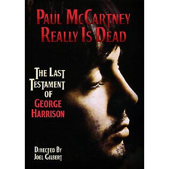 Paul McCartney - virkelig er Dead [DVD] USA import