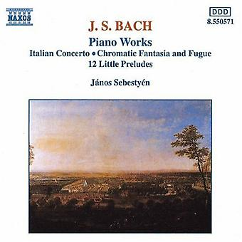 J.S. Bach - Bach: Import USA Piano Works [CD]