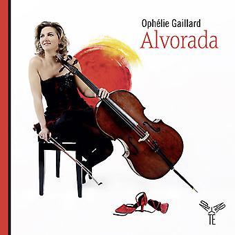 Violoncelle - Alvorada Voyage musikalske De L'Espag [CD] USA importerer