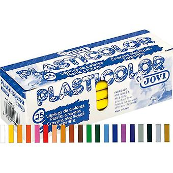 Jovi Caja 25 Plasticolor Ocre (Toys , School Zone , Drawing And Color)