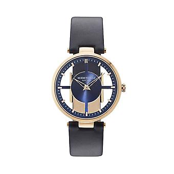 Kenneth Cole New York women's watch wristwatch leather KC15004002