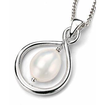 925 серебряные жемчужное ожерелье