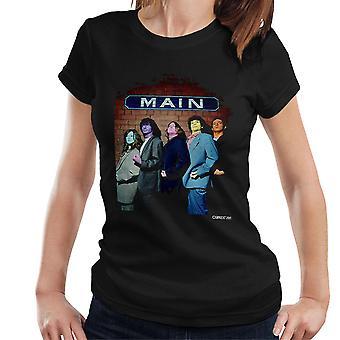 Die Zutons bemalte Gesichter wichtigsten Damen T-Shirt