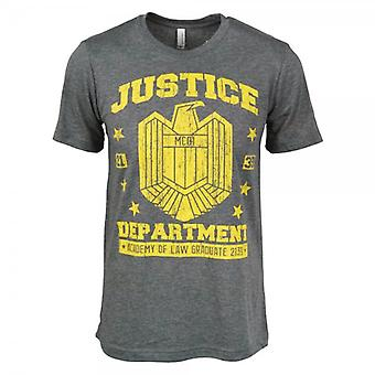 Honcho SFX Justice Department Graduation T Shirt Heather Grey