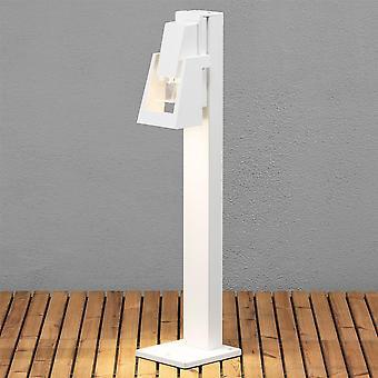 KONSTSMIDE Potenza bianco olio Lanterna giardino in stile Post luce
