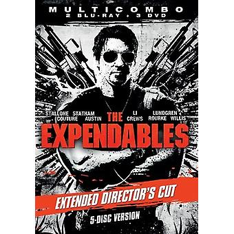 The Expendables Extended Cut du directeur (2 Blu-ray + 3 DVD)