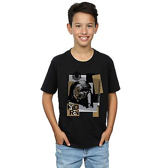 Star Wars Boys The Last Jedi Kylo Ren Patchwork T-Shirt