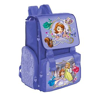 Ausfahrbare Schule Rucksack Disney Prinzessin Sophia