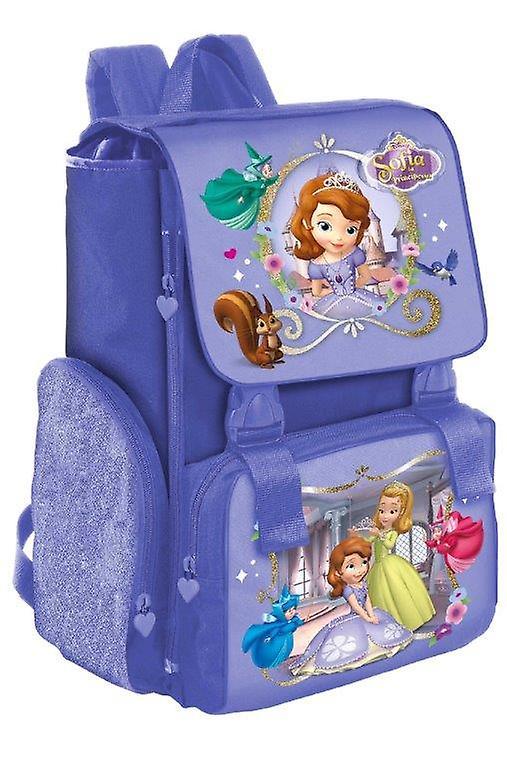 Zaino Scuola Estensibile Disney Principessa Sofia