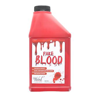 Teatralske falsk blod Halloween Fancy kjole Horror vampyr Zombie Make Up 473ml