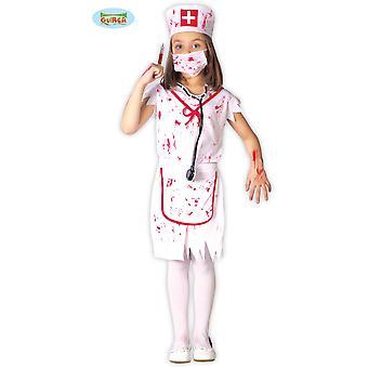 Børns kostumer Zombie halloween sygeplejerske