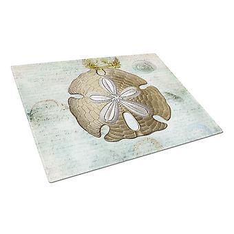Carolines Treasures  SB3025LCB Sand Dollar  Glass Cutting Board Large