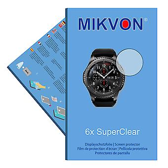 Samsung Gear S3 Frontier screen protector- Mikvon films SuperClear