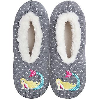 Novelty Slippers-Mermaid - Small/Medium KBWFS-50SM
