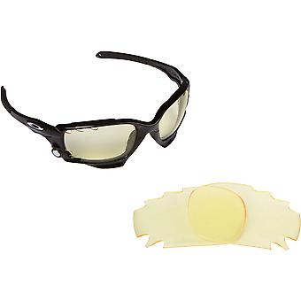 Best SEEK Replacement Lenses Oakley VENTED RACING JACKET Polarized Amber