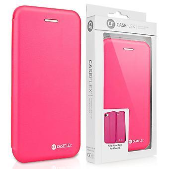 iPhone 7 PU leder staan portemonnee - roze
