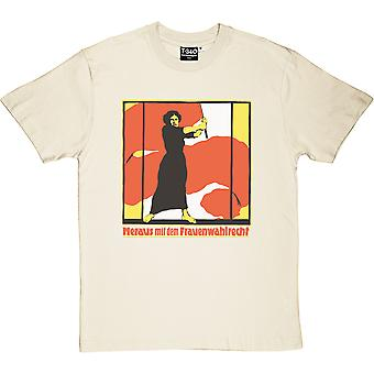 Out With Women's Suffrage Men's T-Shirt