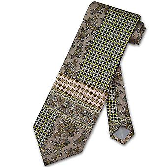 Antonio Ricci Seiden Krawatte hergestellt in Italien geometrische Design Herren Krawatte #3103-3