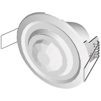 Ceiling PIR motion detector Grothe 94501 360 ° Relay White IP20 (switch box), IP40 (sensor)