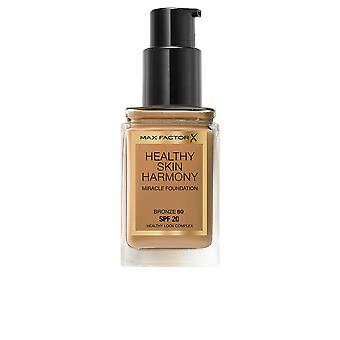 Max Factor Healthy Skin Harmony Foundation Bronze New Womens Make Up