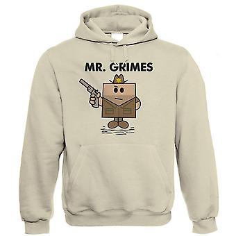 M. Grimes Funny Zombie Hoodie