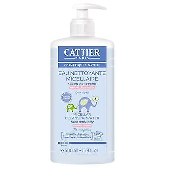 Cattier Micellar cleansing water (Childhood , Children's Hygiene , Creams And Lotions )