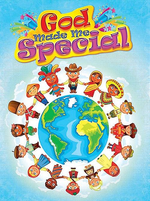 Children's Poster God Made Me Special Series 4 (18x24)
