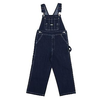 Key Industries Childrens Dungarees - Stonewash Age 4-18 Denim Dungarees Overall