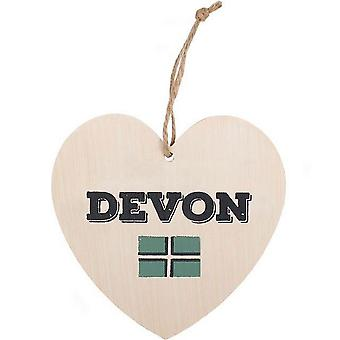 Something Different Devon Hanging Heart Sign