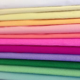 Claire Fontaine Crepe Paper Assorted Colours 200 X 50cm
