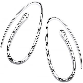 Cavendish French Paperclip Earrings - Silver