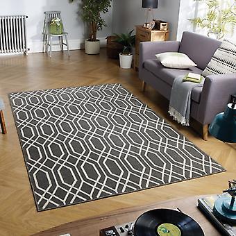 Havanna 192E grå rektangel mattor moderna mattor