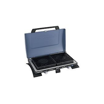 Campingaz 400 Series Double Burner and Grill - Blue