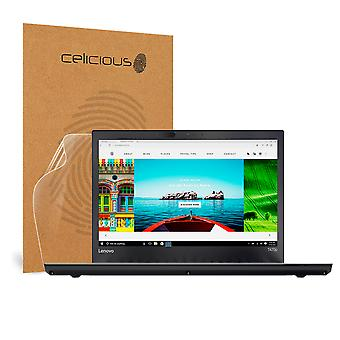 Celicious Impact Anti-Shock Shatterproof Screen Protector Film Compatible with Lenovo ThinkPad T470p (Non-Touch)
