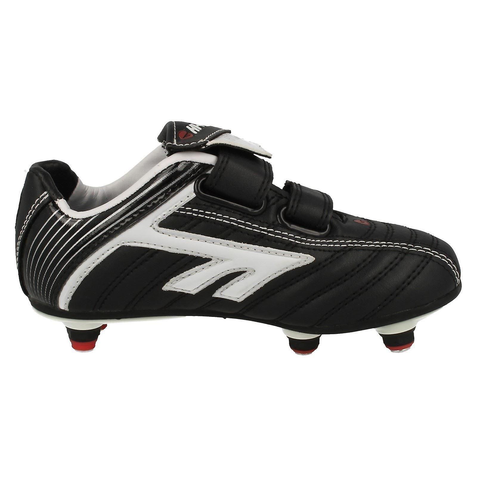 2b90f13aebe4 Boys Hi Tec Removable Studs Football Boots League Pro | Fruugo