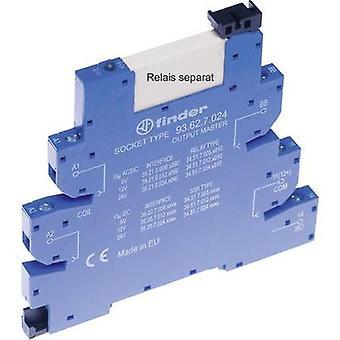 Relay socket + bracket, + LED, + EMC emission supressor 1 pc(s) Finder