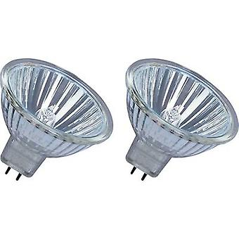 OSRAM Eco halogen EEC: B (A++ - E) GU5.3 45 mm 12 V 35 W Warm white Reflector bulb dimmable 2 pc(s)