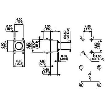 APEM PHAP3301D Pushbutton 12 Vdc 0.05 A 1 x Off/(On) momentary 1 pc(s)