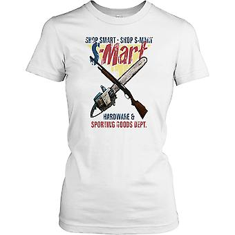 Shop Smart Shop S Mart - Army Of Darkness Quote Ladies T Shirt