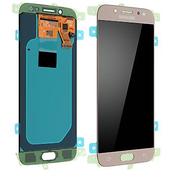 LCD replacement part with touchscreen for Samsung Galaxy J5 2017 - Gold