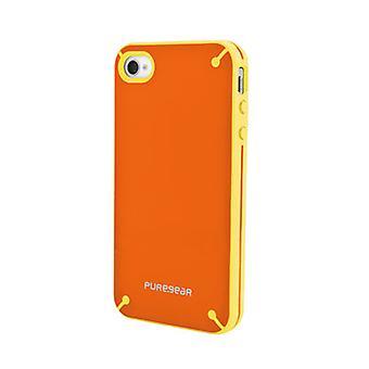 Puregear Slim Shell Case for Apple iPhone 4/4S - Mandarin Orange