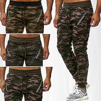 Men's Sweatpants Military Style Camouflage Training Sport Jogger Jogging Pants