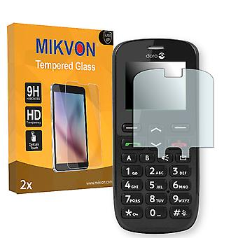 Doro PhoneEasy® 508 Screen Protector - Mikvon flexible Tempered Glass 9H (Retail Package with accessories)