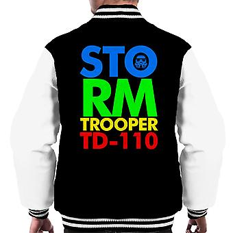Original Stormtrooper 80s Logo Men's Varsity Jacket