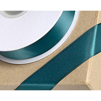 38mm Bottle Green Satin Ribbon for Crafts - 25m | Ribbons & Bows for Crafts