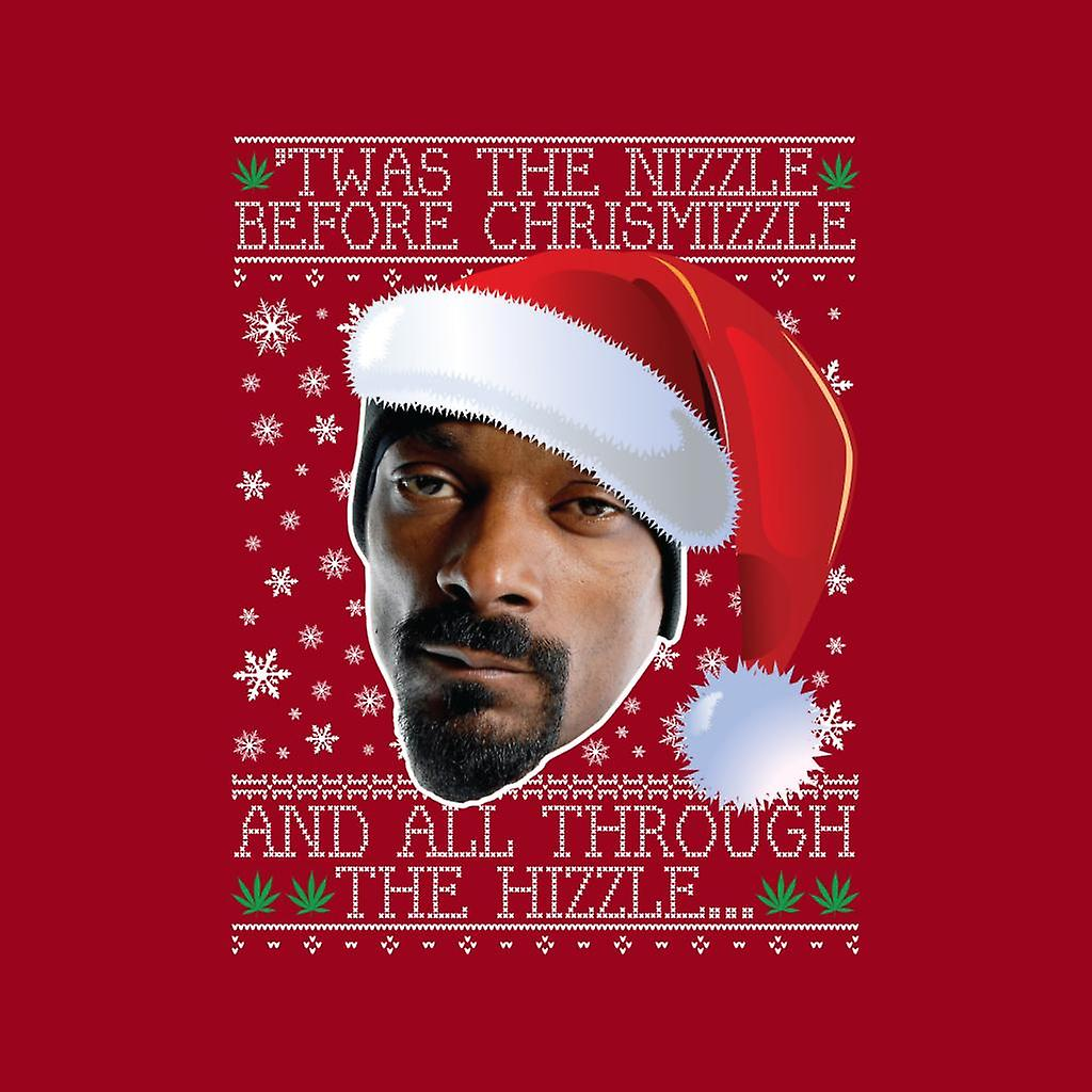 Snoop Dogg Christmas.Twas The Nizzle Before Chrismizzle Snoop Dogg Christmas Men S Sweatshirt